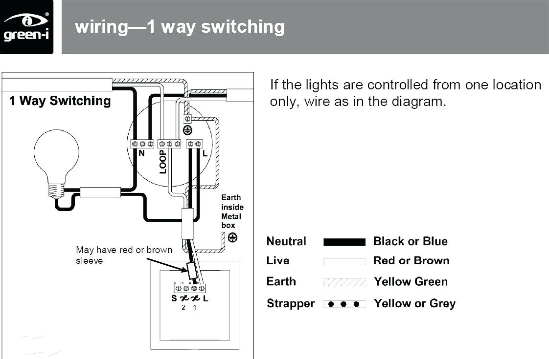 Lutron Single Pole Dimmer Switch Wiring Diagram