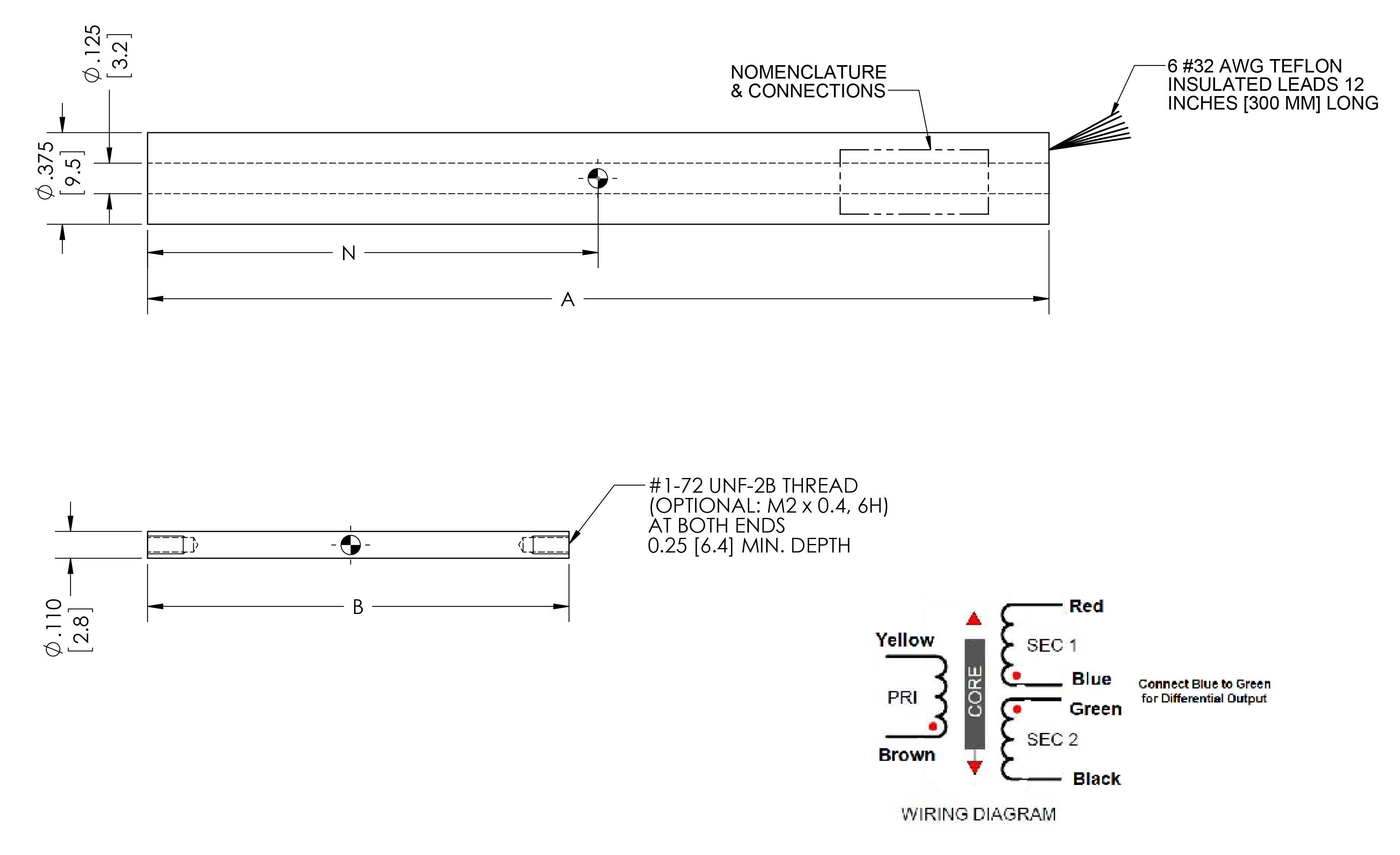 Lvdt Wiring Diagram