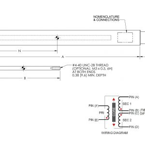 Lvdt Wiring Diagram - Ac Lvdt Posiiton Sensor Hermetically Sealed Lha 19 A Series 8e
