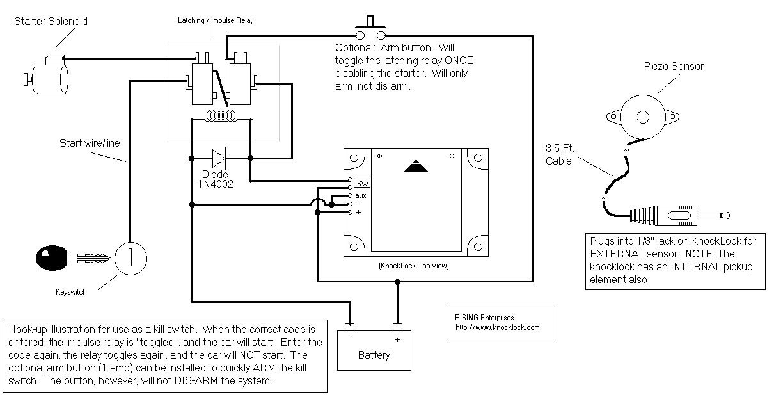 Magnetic Door Contact Wiring Diagram