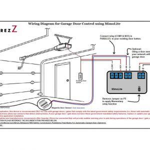 Magnetic Door Switch Wiring Diagram - Magnetic Door Switch Wiring Diagram Mimolite for Garage Door and Magnetic Door Contact 12l