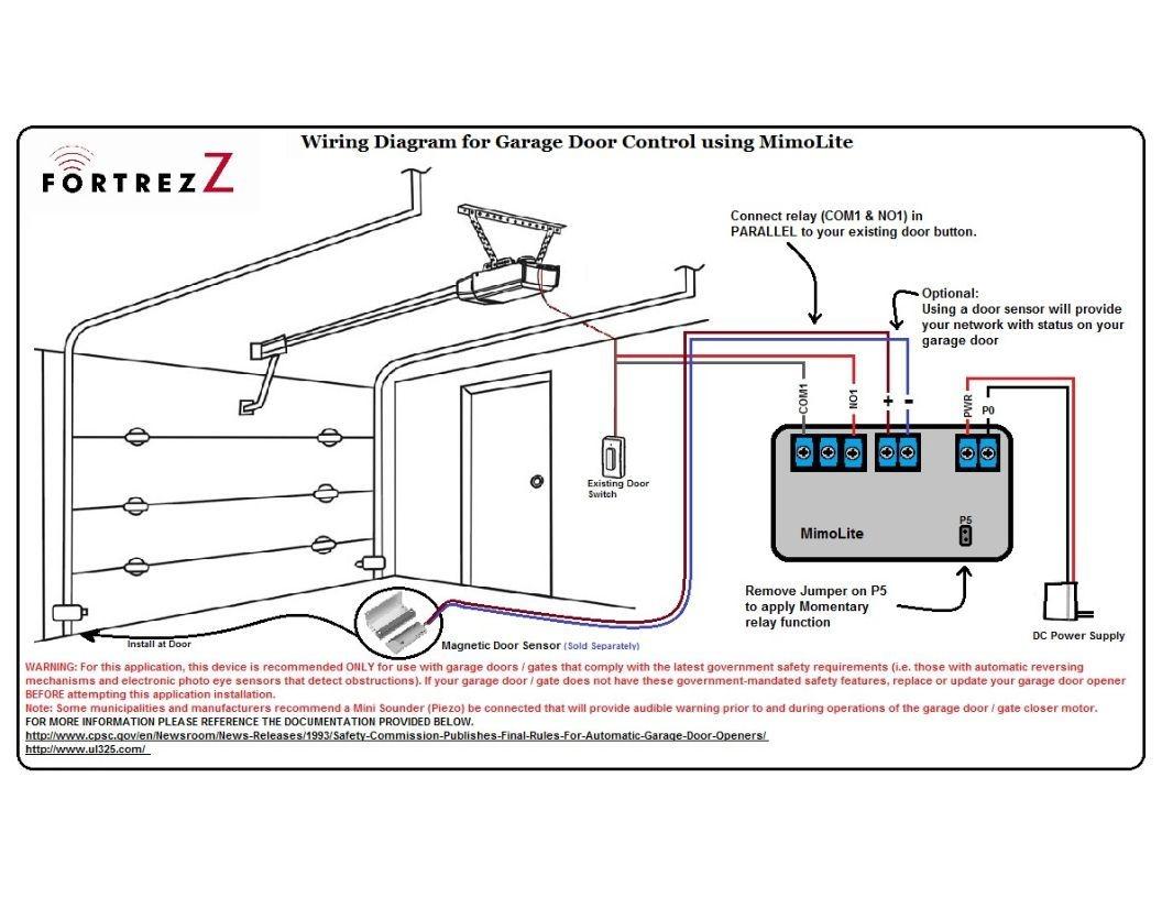magnetic door switch wiring diagram Collection-Magnetic Door Switch Wiring Diagram Mimolite for Garage Door and Magnetic Door Contact 6-r