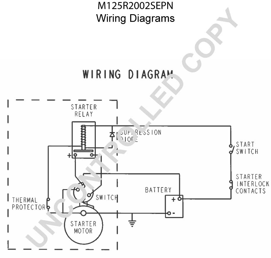 magnetic switch wiring diagram