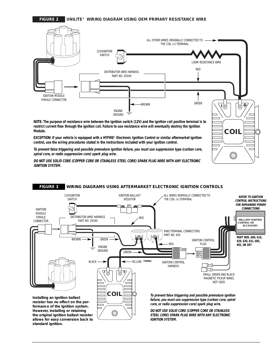 mallory ignition wiring diagram Download-Coil Mallory Ignition UNILITE DISTRIBUTOR User Manual Best Wiring Diagram 8-l