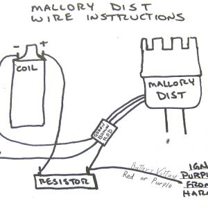 Mallory Ignition Wiring Diagram | Free Wiring Diagram on
