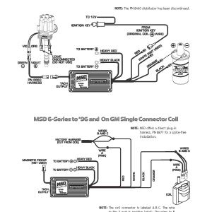 Mallory Ignition Wiring Diagram - Msd 6al Wiring Diagram Hei New Mesmerizing Mallory Distributor and Mallory Ignition Wiring Diagram 2 4t