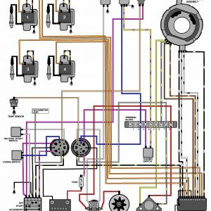Marine Electrical Wiring Diagram - Evinrude Outboard Wiring Diagram New Evinrude Johnson Outboard Rh Lambdarepos org 15p
