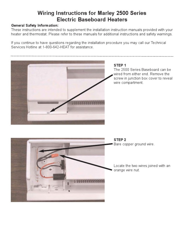 marley baseboard heater wiring diagram Collection-Marley Electric Baseboard Heaters Wiring Diagram Data Simple 10-e