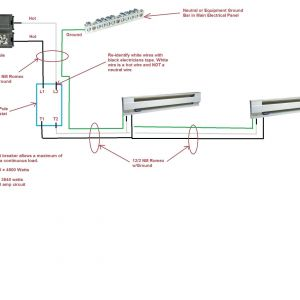 Marley Baseboard Heater Wiring Diagram - Wiring Diagram for Electric Baseboard Heater with thermostat New Rh Rccarsusa Fahrenheat Baseboard Heater Wiring Diagram 240v Baseboard Heater Wiring 19q