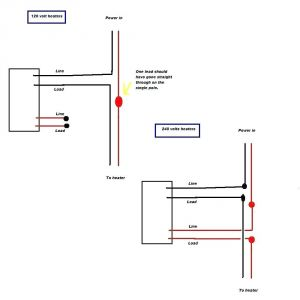 Marley Electric Baseboard Heater Wiring Diagram - Marley Electric Baseboard Heaters Wiring Diagram Data Endear 220v Heater 19a
