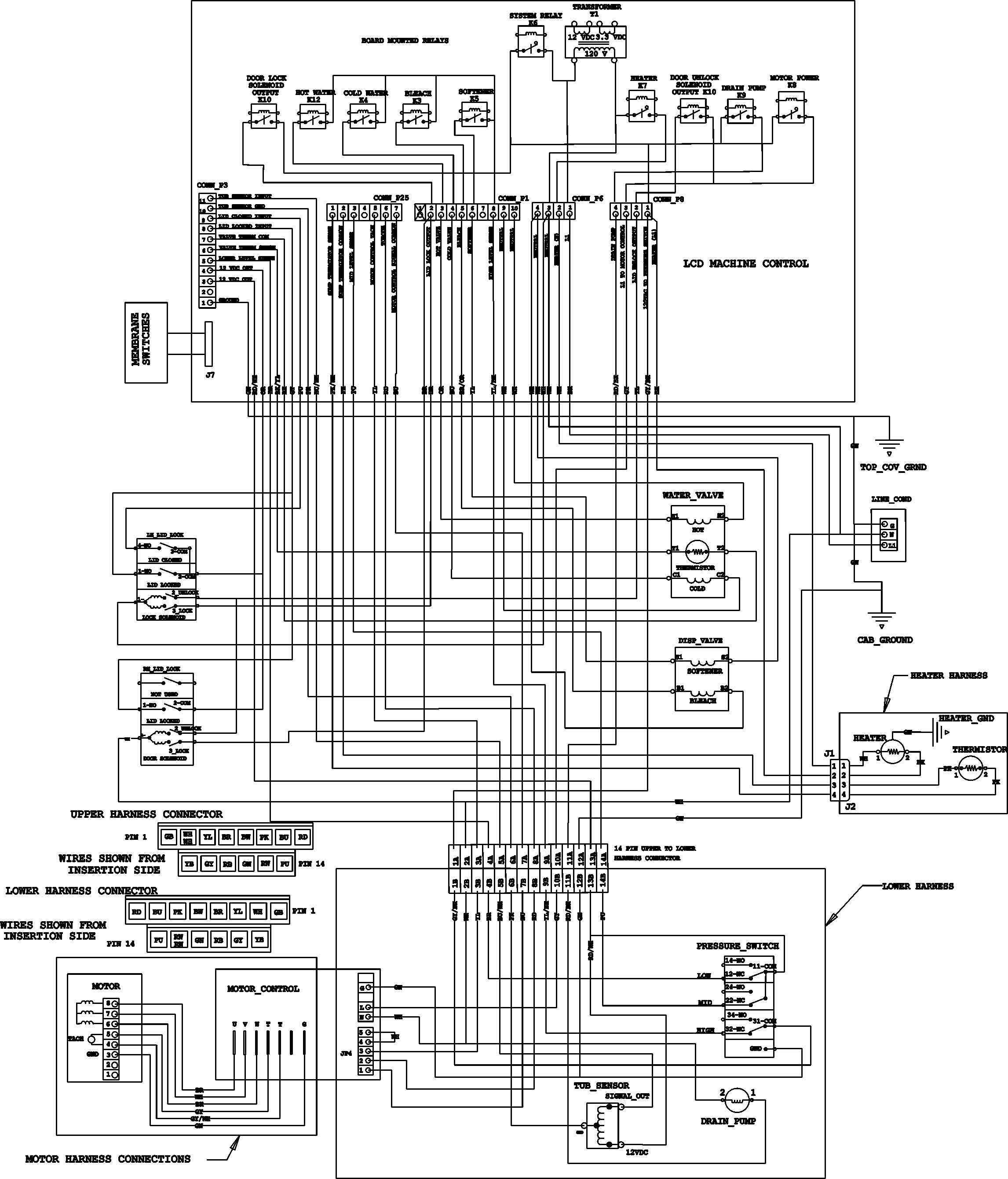 Wiring Diagram For Bosch Washing Machine