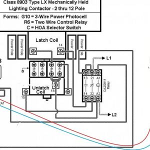 Mechanically Held Lighting Contactor Wiring Diagram - Lighting Contactor Wiring Diagram withtocell 1400—771 with Cell 4c