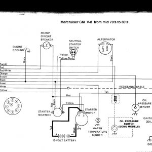 Mercruiser 4.3 Wiring Diagram - Old Fashioned 454 Mercruiser Wiring Diagram Ponent Electrical 3 0 L Mercruiser Engine Diagram Fresh 14c