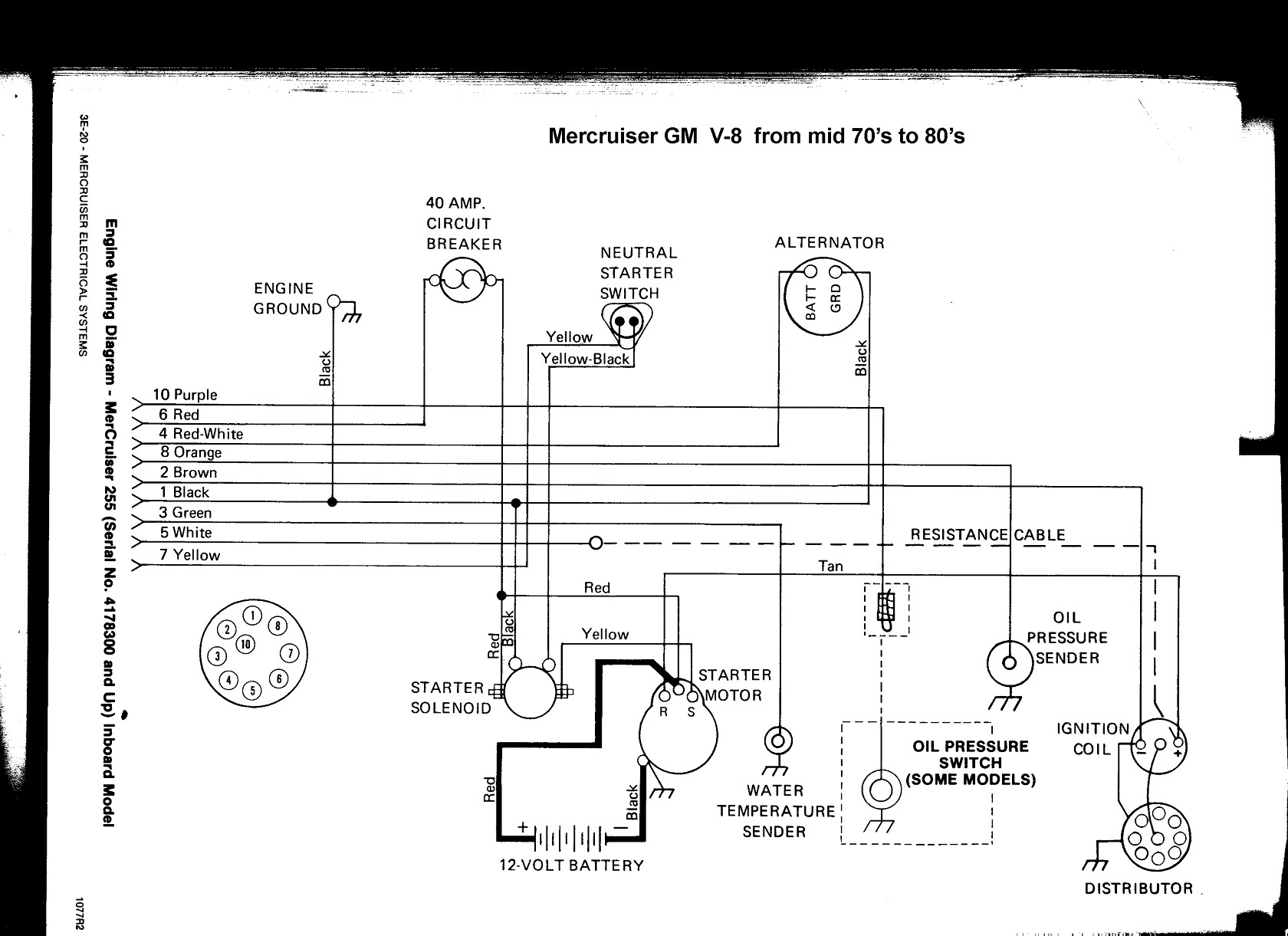 wiring 4 schematics mercruiser 4.3 wiring diagram | free wiring diagram