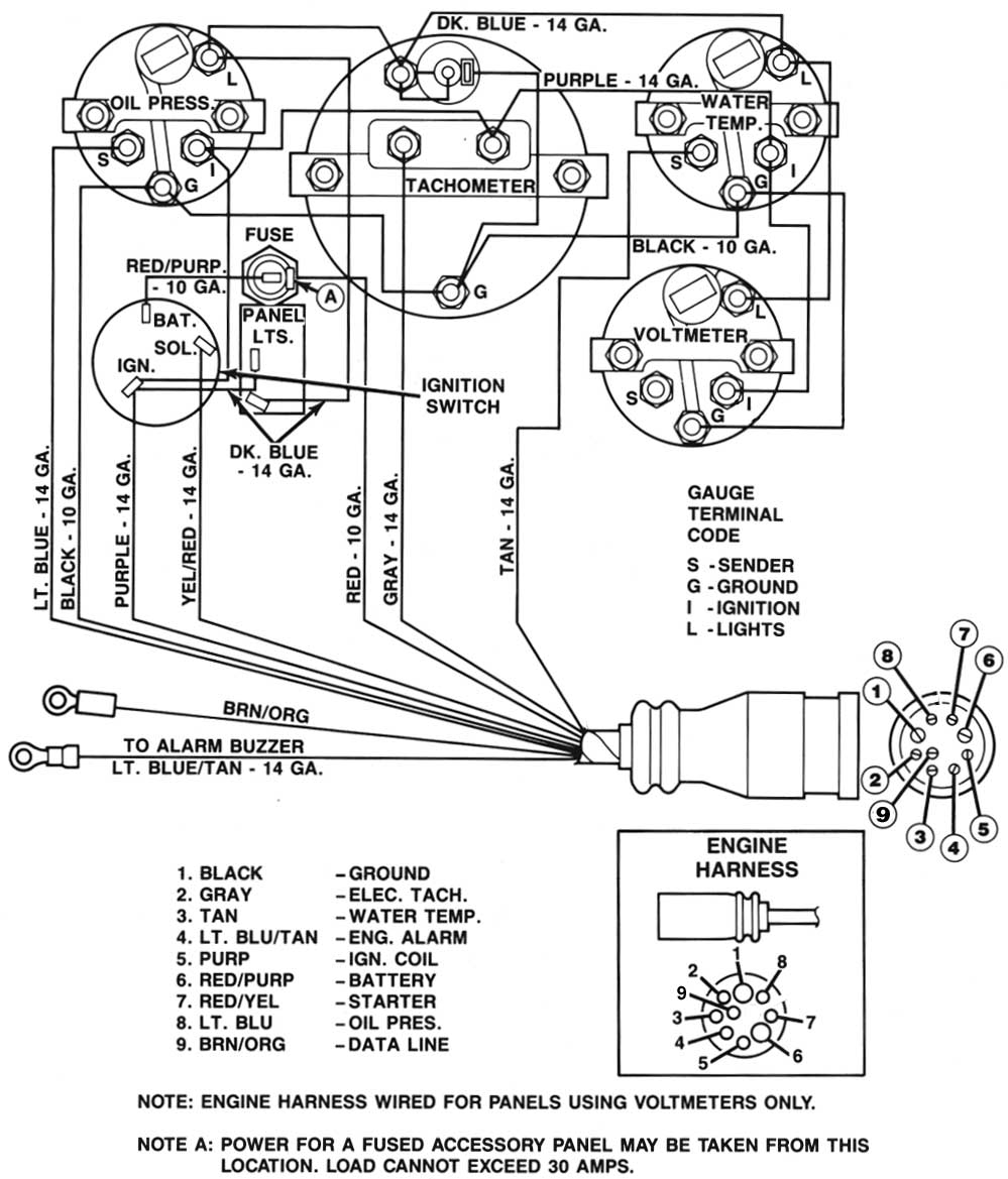 Mercruiser 4.3 Wiring Diagram | Free Wiring Diagram on