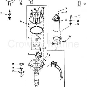 Mercruiser Ignition Wiring Diagram - Mercruiser 5 7 Wiring Diagram Collection 1988 Mercury Inboard Engine 5 7l [ski] as 7q