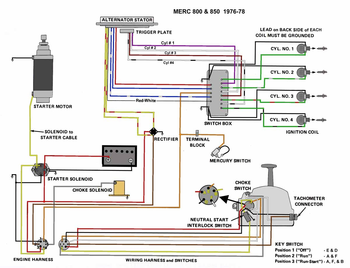 mercury outboard ignition switch wiring diagram mercury outboard wiring diagram | free wiring diagram #10
