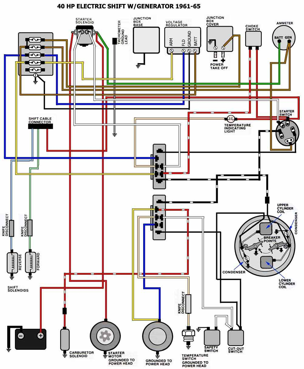 mercury outboard wiring diagram ignition switch | free ... boat ignition wiring diagram switch #10