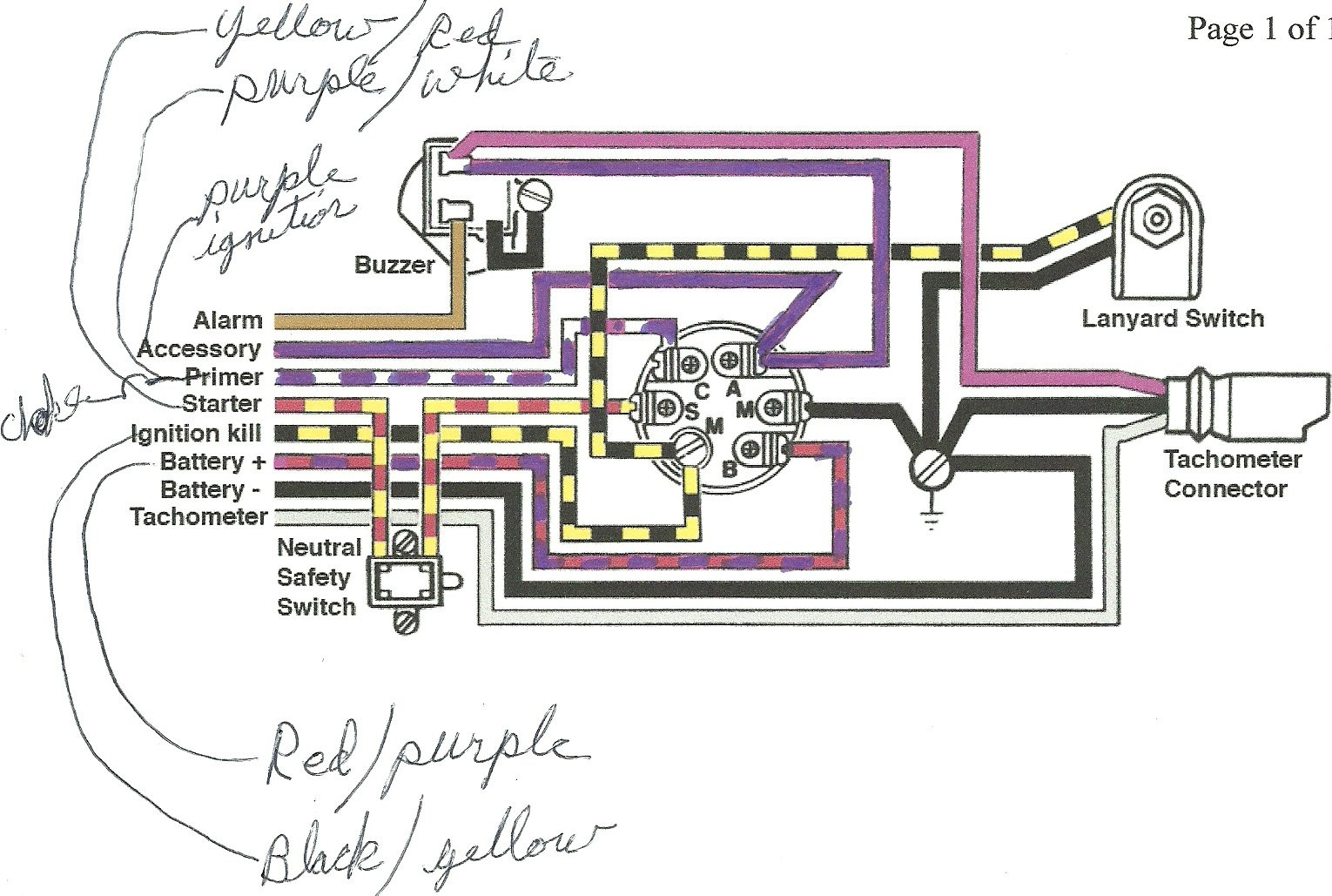 Mercury Outboard Wiring Diagram Schematic El Start To And Mercury Marine Ignition Switch Wiring Ford Ignition D on 1974 Mercury Outboard Ignition Switch Wiring Diagram