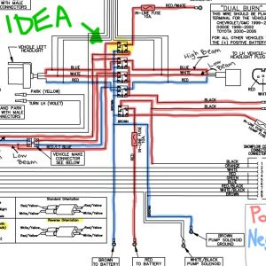 Meyer Plow Wiring Diagram - Meyer Plow Wiring Diagram 6 Throughout Snow for Headlights Mihella 1g
