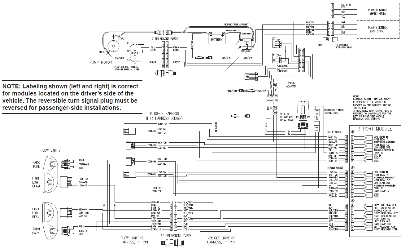 Meyer Salt Spreader Wiring Diagram
