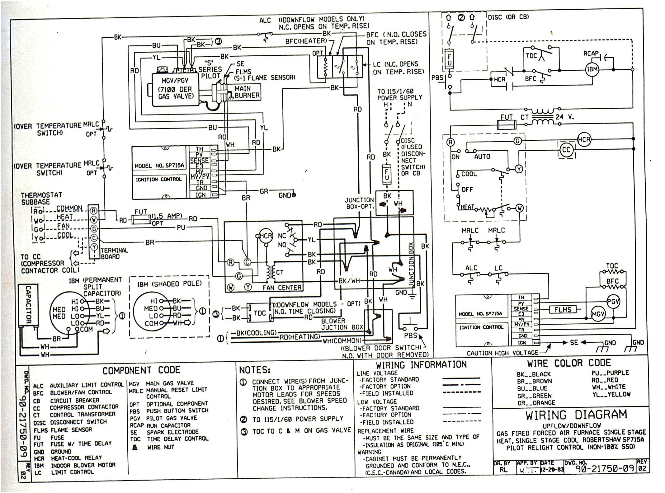 millivolt valve wiring diagram