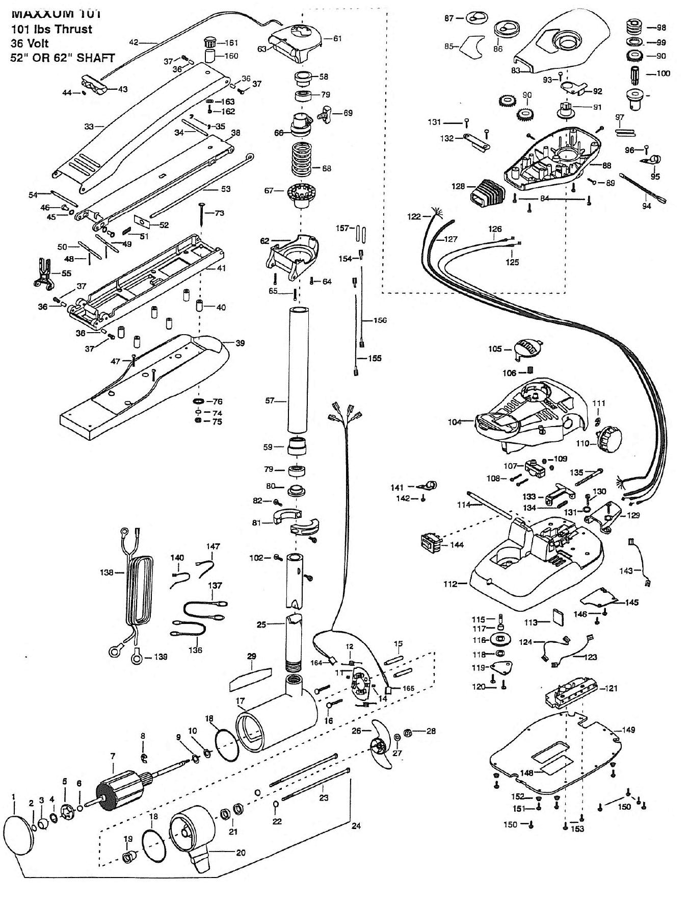 Minn Kota Trolling Motor Draw Chart Wiring Diagram