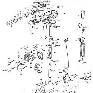 Minn Kota Wiring Diagram Manual - Minn Kota Wiring Diagram Manual Unique Minn Kota 65 Trolling Motor Parts 17f
