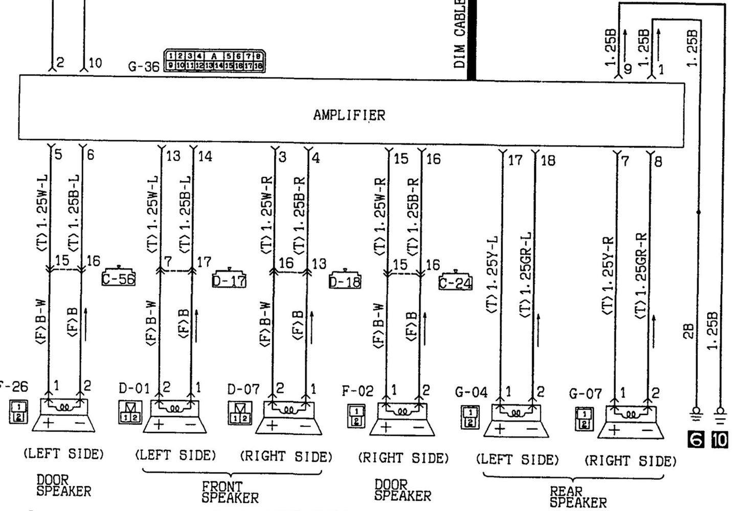 mitsubishi galant stereo wiring diagram Collection-1995 mitsubishi eclipse radio wiring diagram wiring rh westpol co 1997 Mitsubishi Diamante Parts 1996 Mitsubishi Diamante 2-f