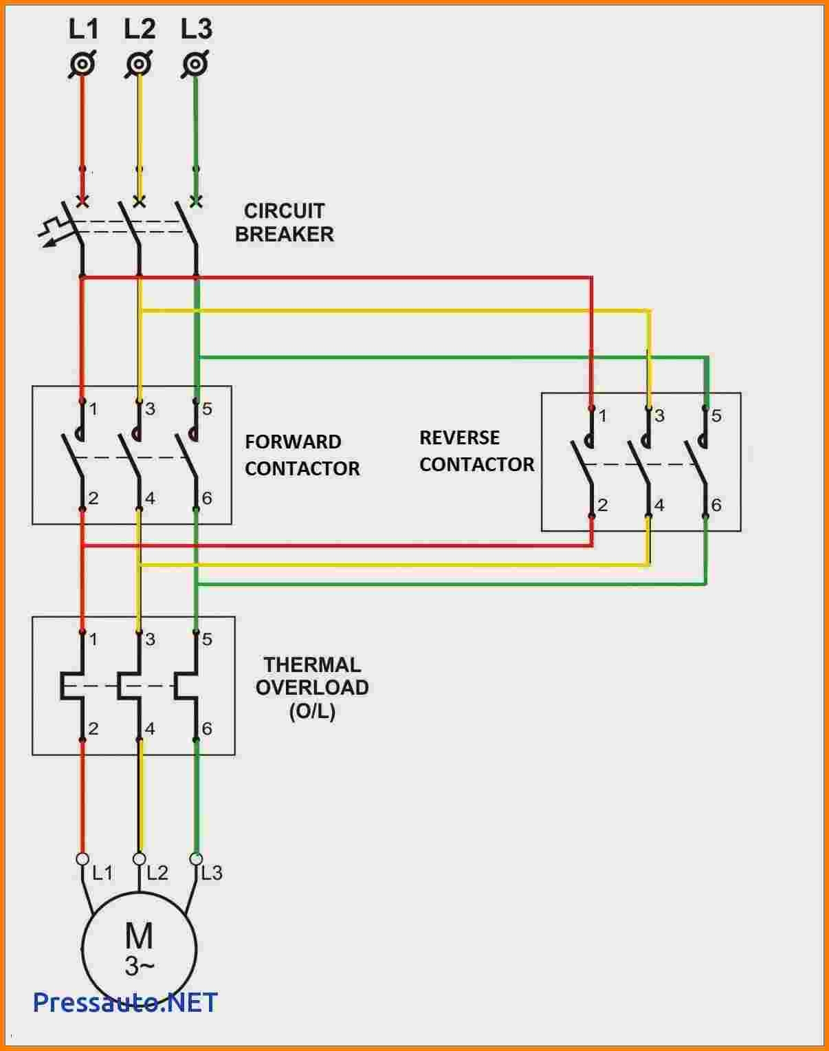 Motor Starter Wiring Diagram Start Stop