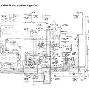 Motorcraft Distributor 12127 Wiring Diagram - Wiring for 1950 51 Mercury Car 11h