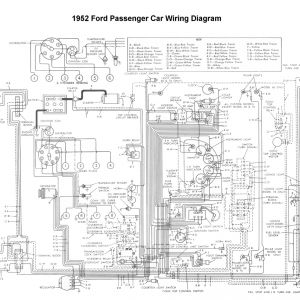 Motorcraft Distributor 12127 Wiring Diagram - Wiring for 1952 ford Car 3n