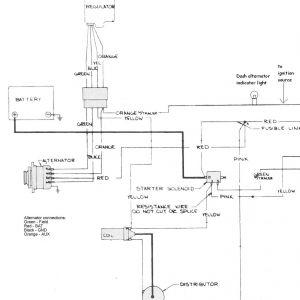 Motorola Voltage Regulator Wiring Diagram - Amc Charging System and Alternator the Right is Basic Wiring Diagram for Amc Motorola 3p