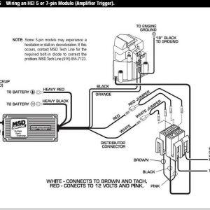 Msd 6425 Wiring Diagram - Chevy Msd Distributor Wiring Diagram Data Endear 6al Box 6p