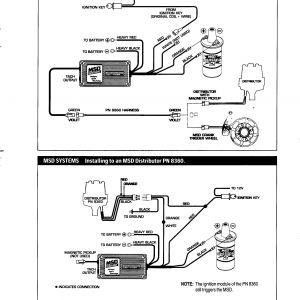 Msd 6425 Wiring Diagram - Msd Ignition System Wiring Diagram Save Msd Ignition 6al Wiring Diagram Wiring Diagram • 17f