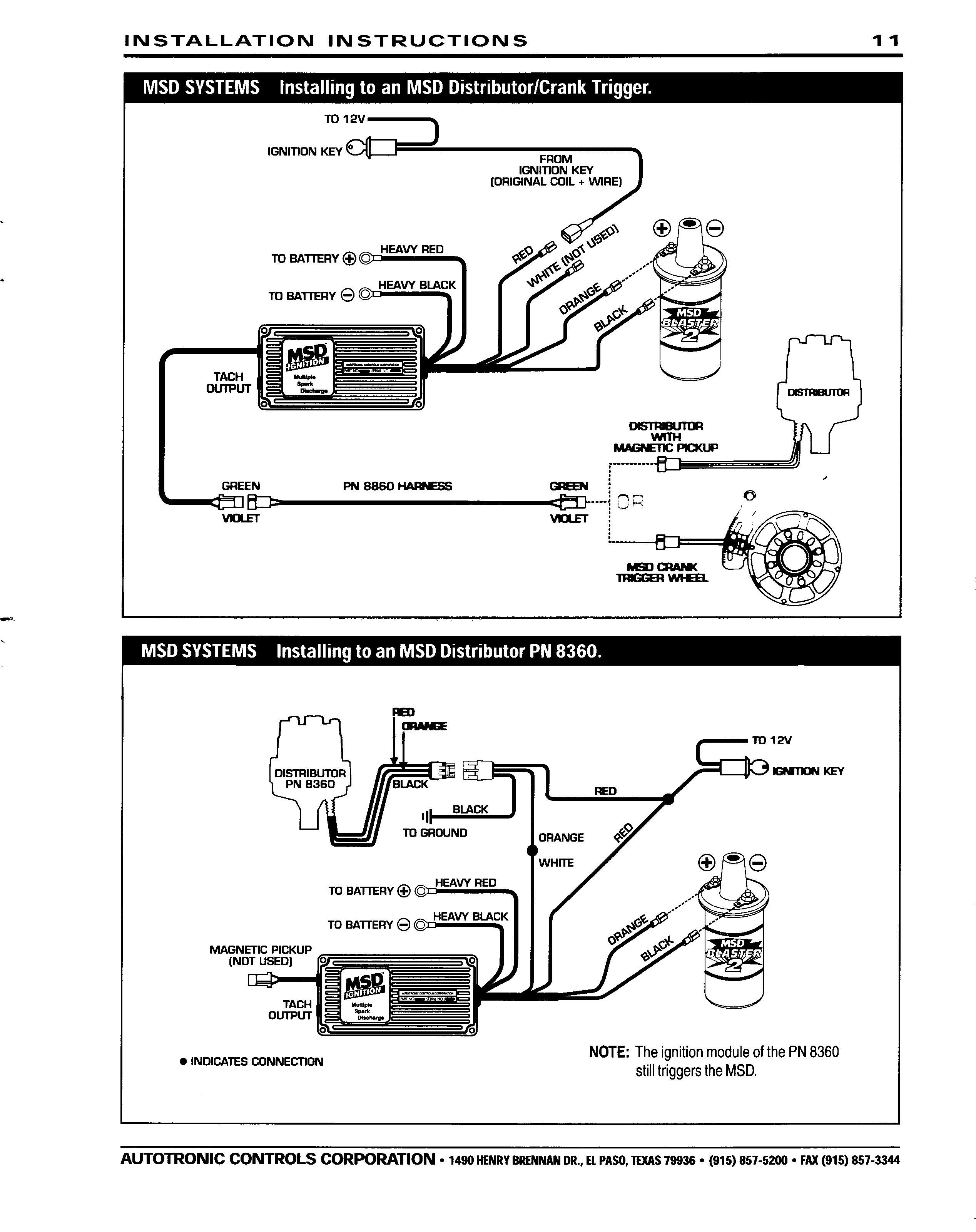 Diagram 6425 Msd Ignition Wiring Diagram