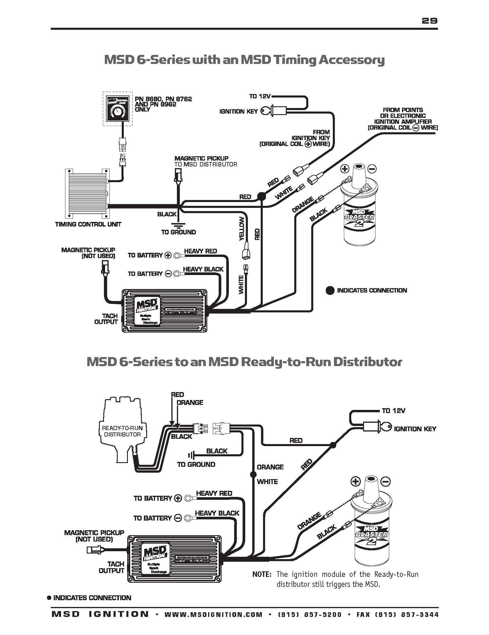 msd 6al 2 wiring diagram Download-Msd 6al 2 Wiring Collection 5-q