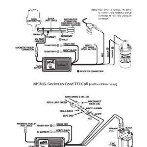 Msd 6al 2 Wiring Diagram - Msd 6al Wiring Diagram ford Tfi Wire Center U2022 Rh 66 42 74 58 Hei Msd 18o