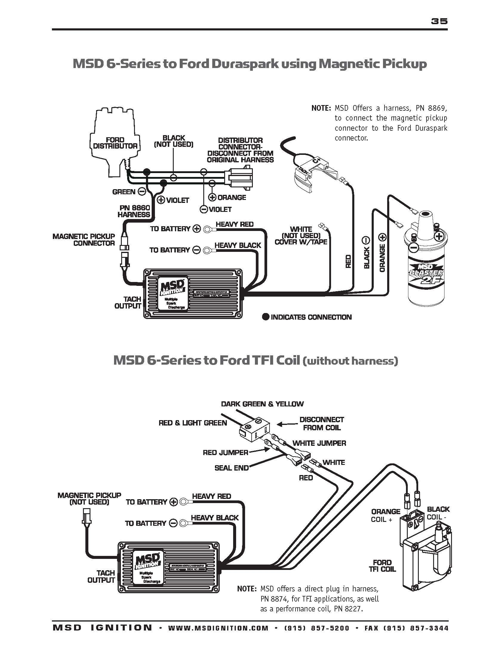 ford tfi ignition wiring diagram msd 6al 2 wiring diagram | free wiring diagram ford 460 ignition wiring diagram camper #14