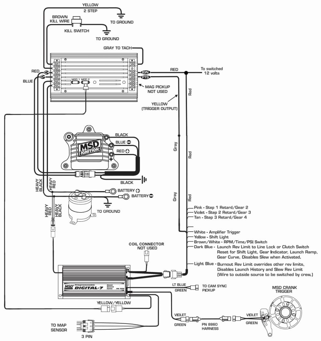 Msd 6al 2 Wiring Diagram