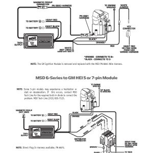 Msd 6al Part Number 6420 Wiring Diagram - Hei Msd 6a Wiring Diagram Diagrams Schematics at Ignition 6al 6420 1i