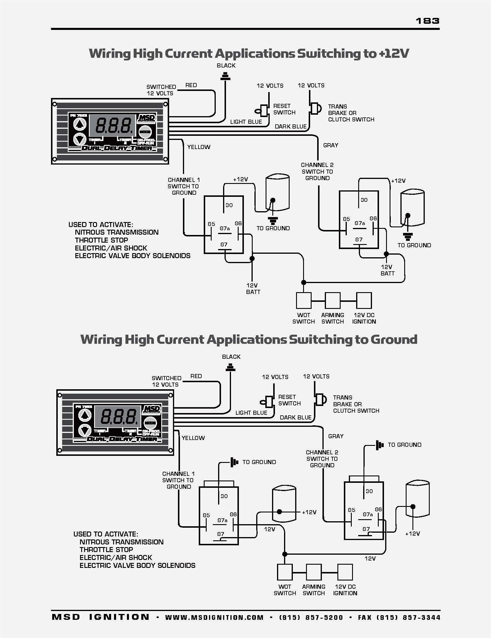 Msd 6al Part Number 6420 Wiring Diagram | Free Wiring Diagram