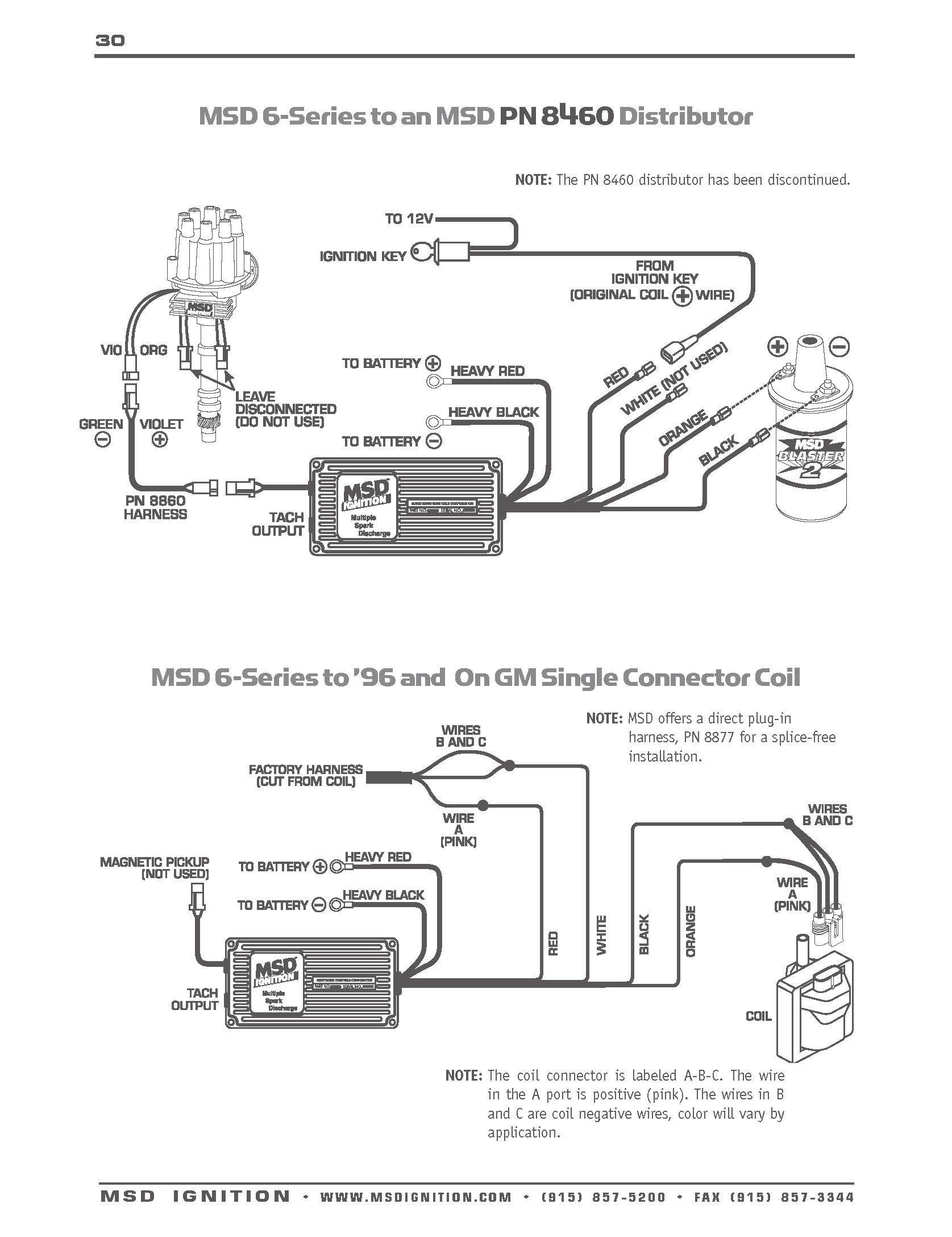Msd 6al Part Number 6420 Wiring Diagram