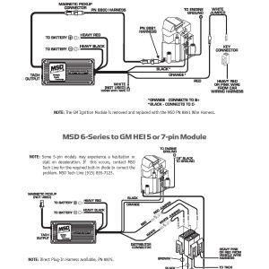 Msd 6al Wiring Diagram Chevy Hei - Hei Msd 6a Wiring Diagram Diagrams Schematics at Ignition 6al 6420 3l