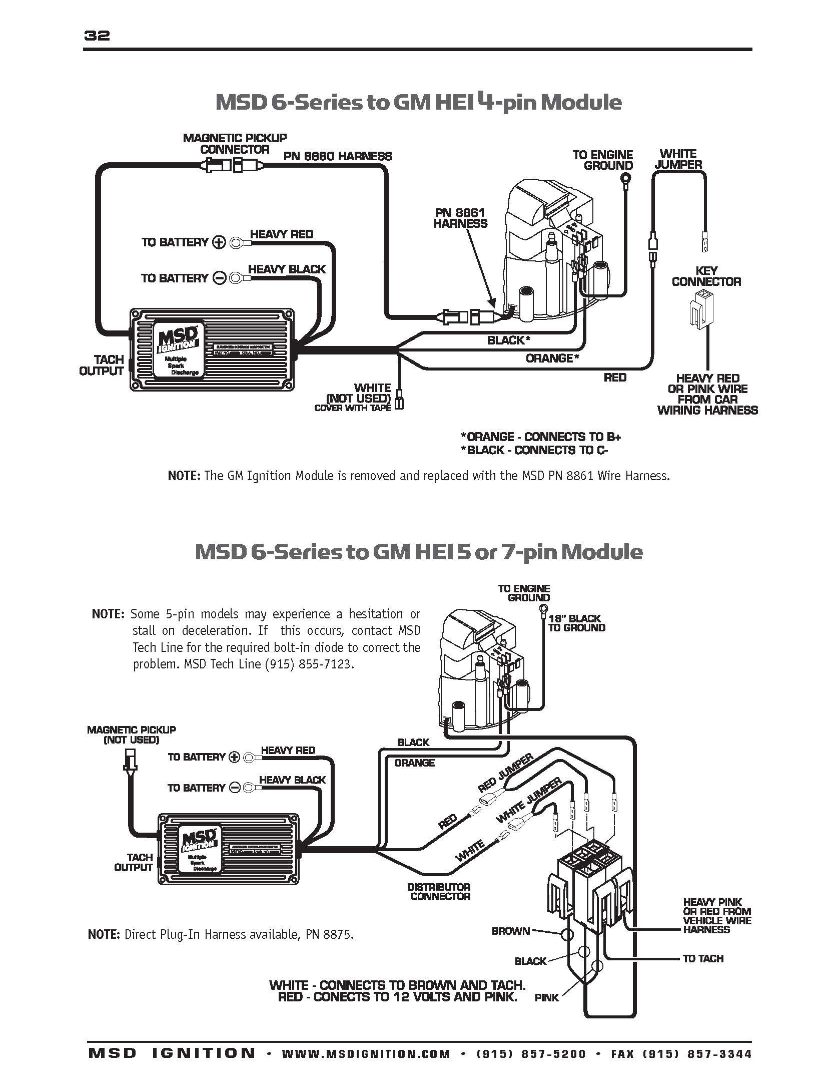 Msd 6al Wiring Diagram Chevy - Msd 6al to Hei Wiring Diagram at A 6al Box 10m