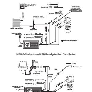 Msd 6al Wiring Diagram - Msd 6al 2 Wiring Collection 4d