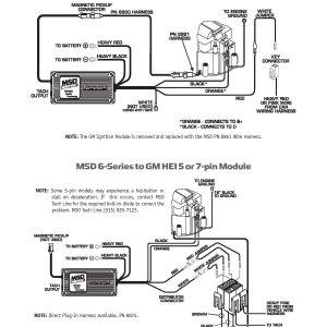 Msd 6al Wiring Diagram - Msd 6al to Hei Wiring Diagram at A 6al Box 11r