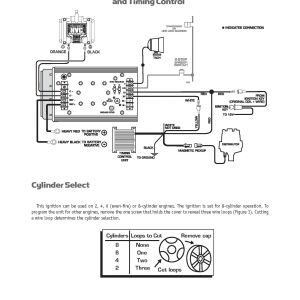 Msd 6al Wiring Diagram - Msd Ignition 6al Wiring Diagram Plug 6aln 7al3 7al ford 4c