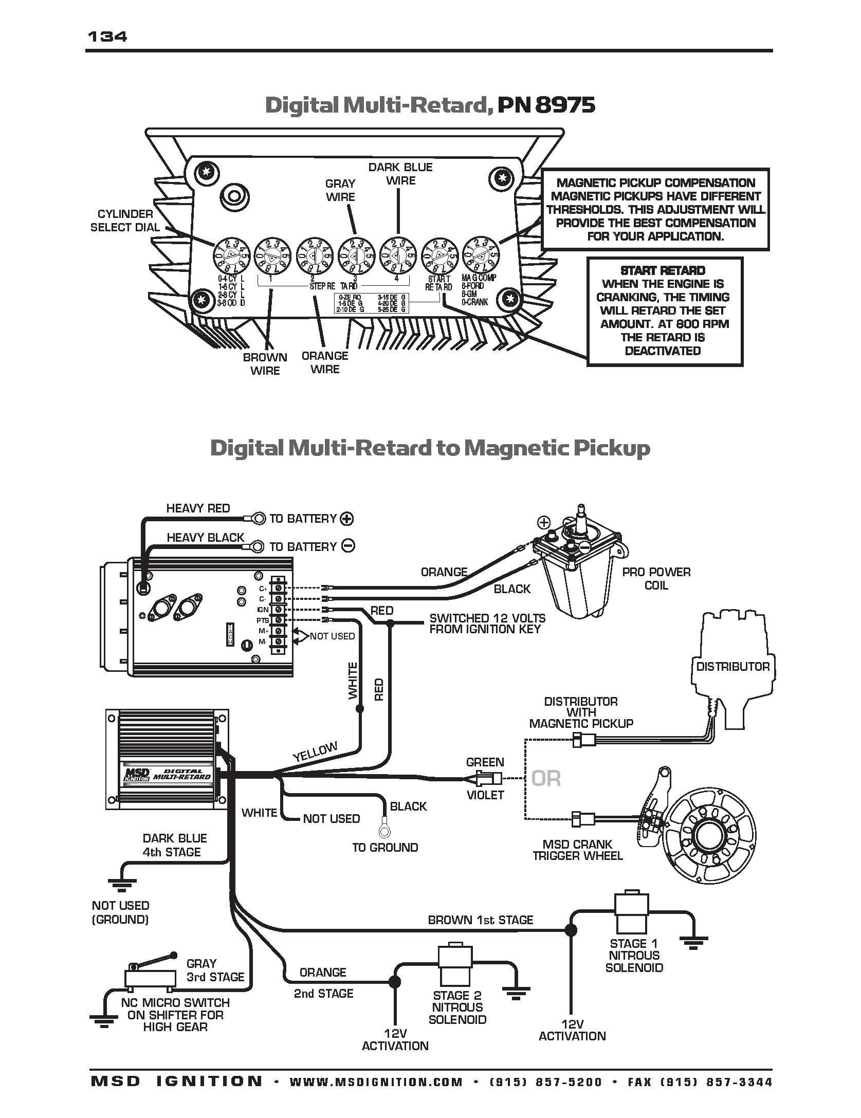 msd 6btm wiring diagram Download-Msd Distributor Wiring Diagram WIRING DIAGRAM 8-n