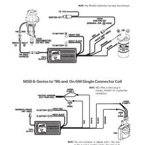 Msd 6btm Wiring Diagram - Msd Ignition Wiring Diagram Wire Center • 9r